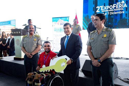 Mininter: adjudicarán más de 2,000 viviendas para familia policial. Foto: ANDINA/Difusión.