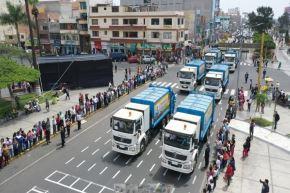 Chimbote: invierten más de S/ 5 millones para potenciar servicio de limpieza pública
