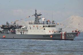 La Marina de Guerra del Perú desplegó interdicción con la patrullera marítima BAP Río Piura en el mar piurano de Talara. Foto: Marina de Guerra