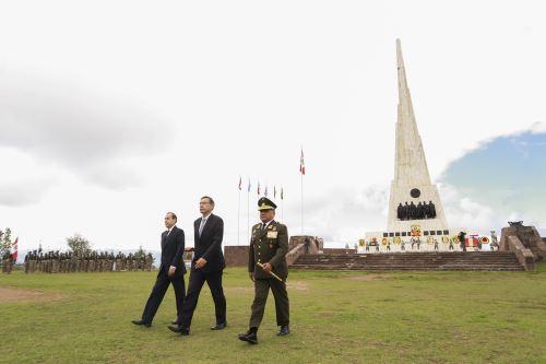 Presidente Vizcarra participa en ceremonia por 195 Aniversario de Batalla de Ayacucho