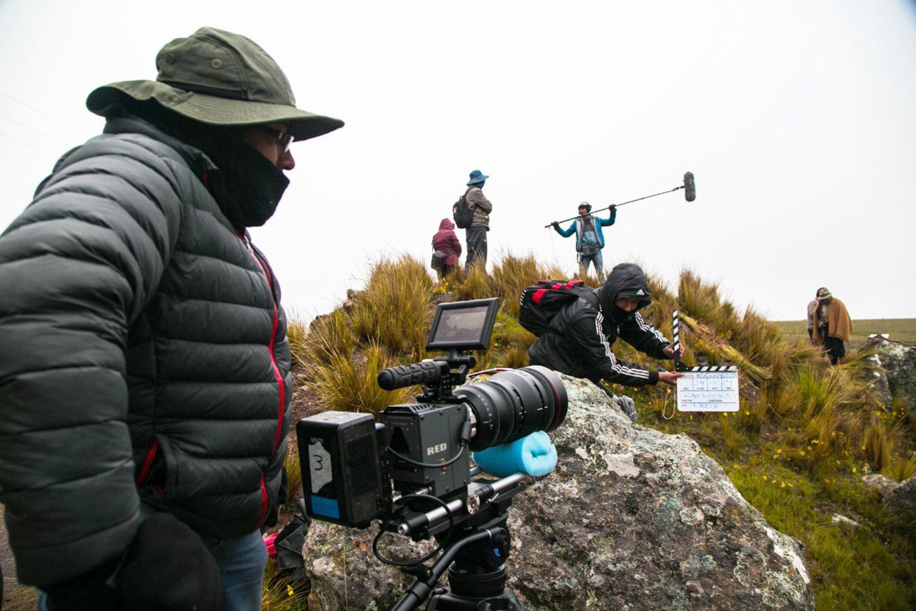 Fomentarán desarrollo de cine peruano. Foto: Andina/Difusión