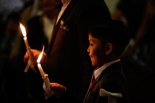 Celebración de la Inmaculada Concepción   iglesias católicas del Perú