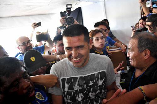 Juan Ramón Riquelme será el vicepresidente del Boca Juniors