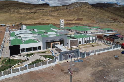 Ministerio de Salud informó que el sector construye 11 establecimientos de salud en zonas más alejadas del Perú. ANDINA/Difusión
