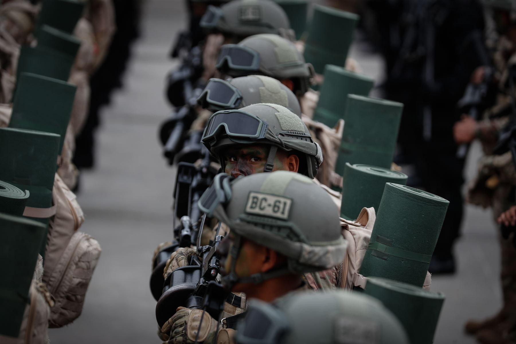 Ceremonia por el Día del Ejército del Perú. Foto: ANDINA/Renato Pajuelo