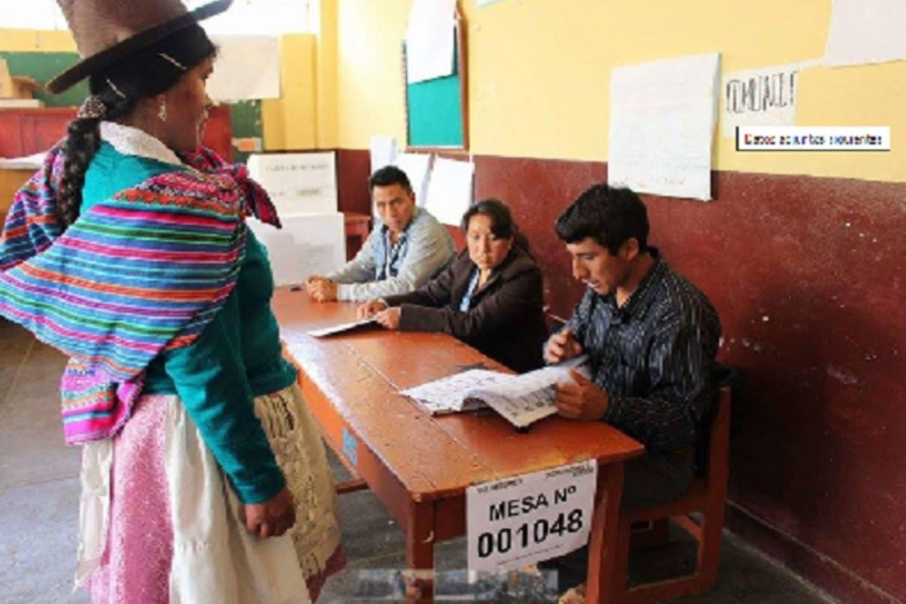 En la región Áncash se han instalado tres locales de la Oficina Descentralizada de Procesos Electorales, que funcionarán en Santa, Huaraz y Huari.
