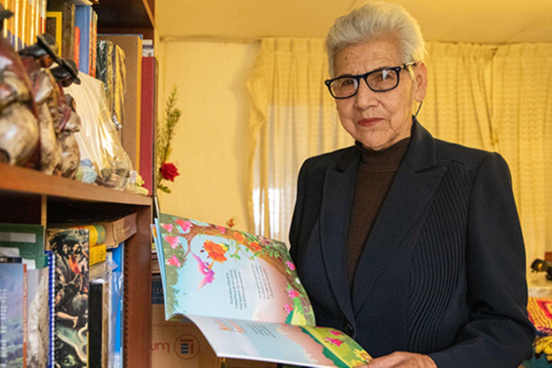 La maestra ancashina Violeta Ardiles llegó en 1969 a la Escuela Primaria Mixta Nº 13032 Rampac Grande, ubicada en la provincia de Carhuaz, para transformarla en beneficio de cientos de escolares.