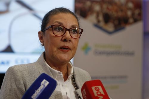 Presidenta del Concytec, Fabiola León-Velarde. ANDINA/Renato Pajuelo