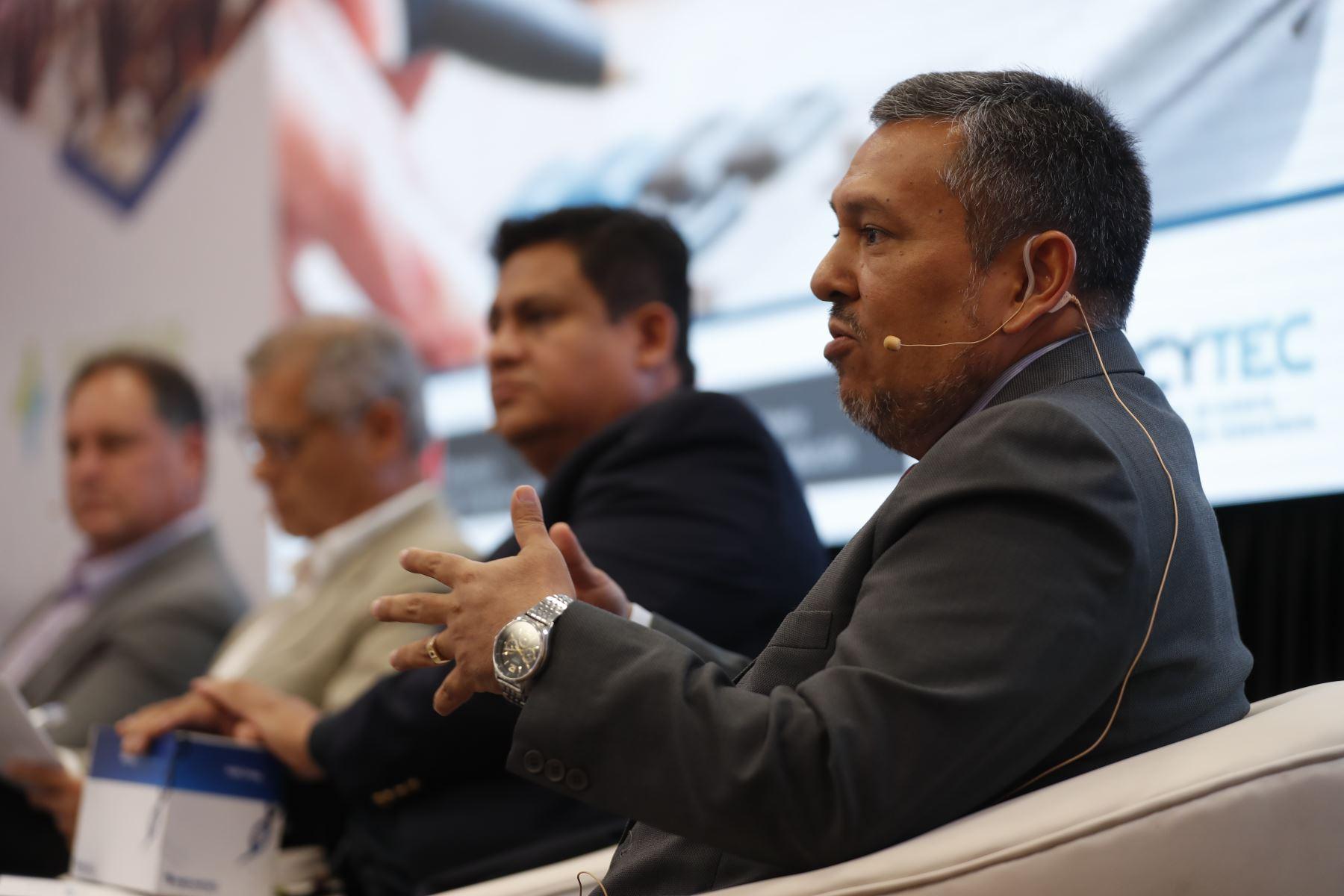 Domingo Neyra López, gerente de Estrategias de la Intendencia Nacional de  Estrategias y Riesgos de la Sunat. Foto: ANDINA/Renato Pajuelo