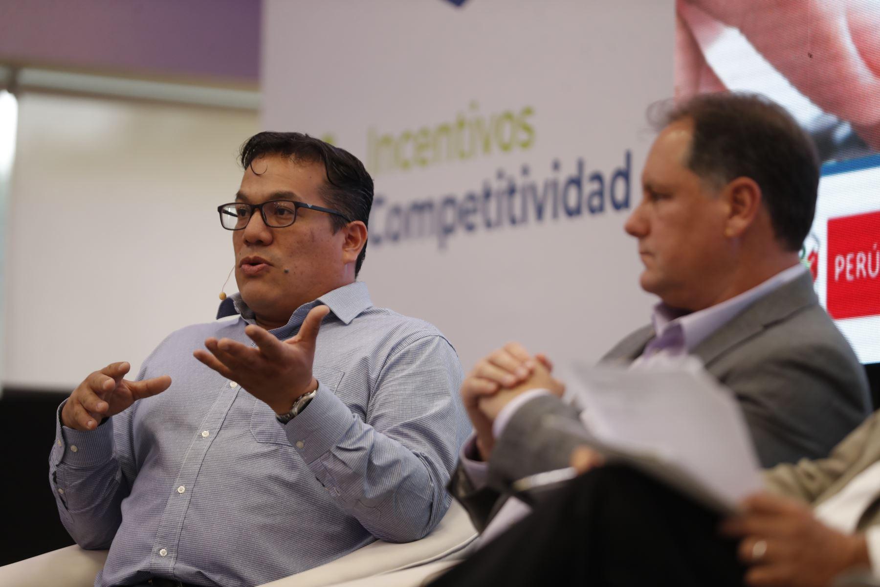 Sergio Rodríguez Soria, director ejecutivo del Instituto Tecnológico de la Producción. Foto: ANDINA/Renato Pajuelo