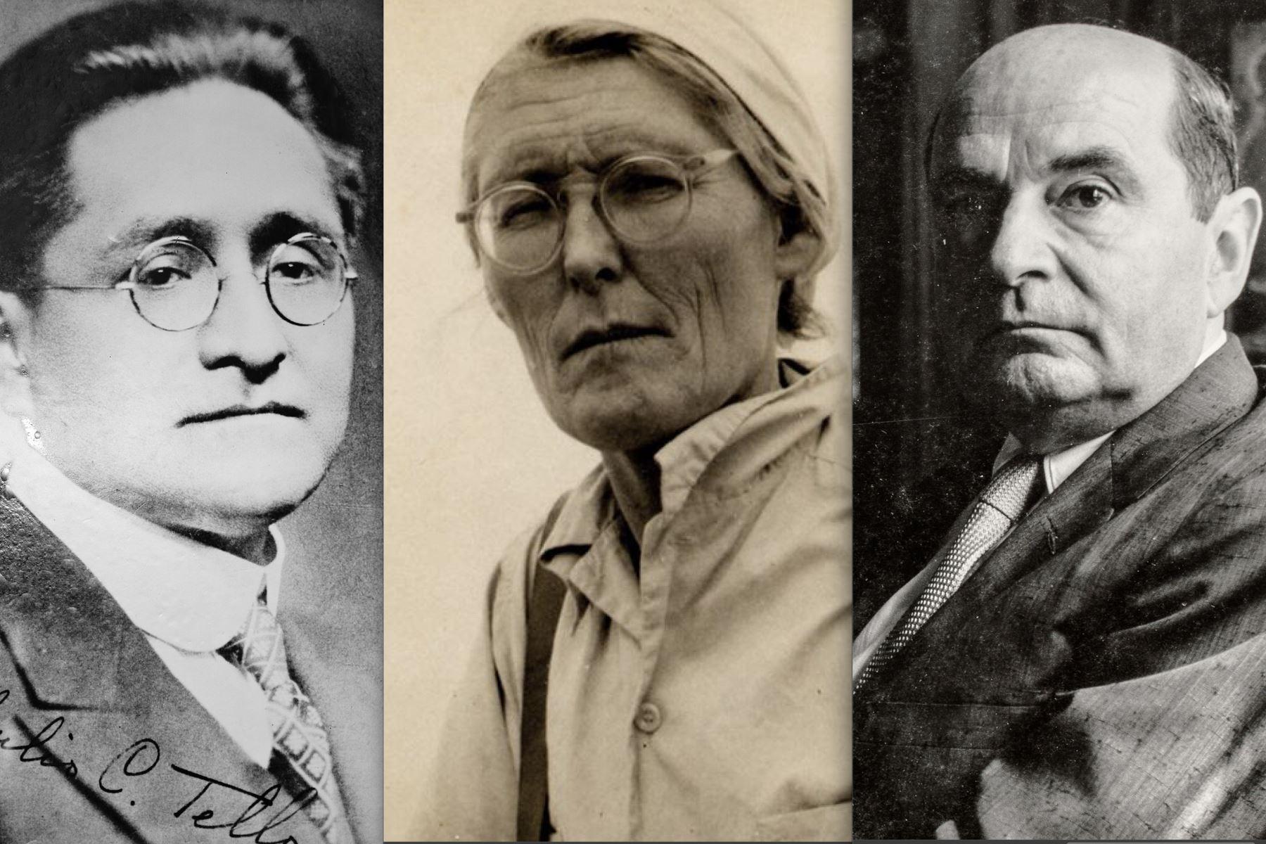 Julio C. Tello, María Reiche y Jorge Basadre son algunos de los peruanos ilustres que han recibido las Palmas Magisteriales en la categoría Amauta. Foto: ANDINA/archivo