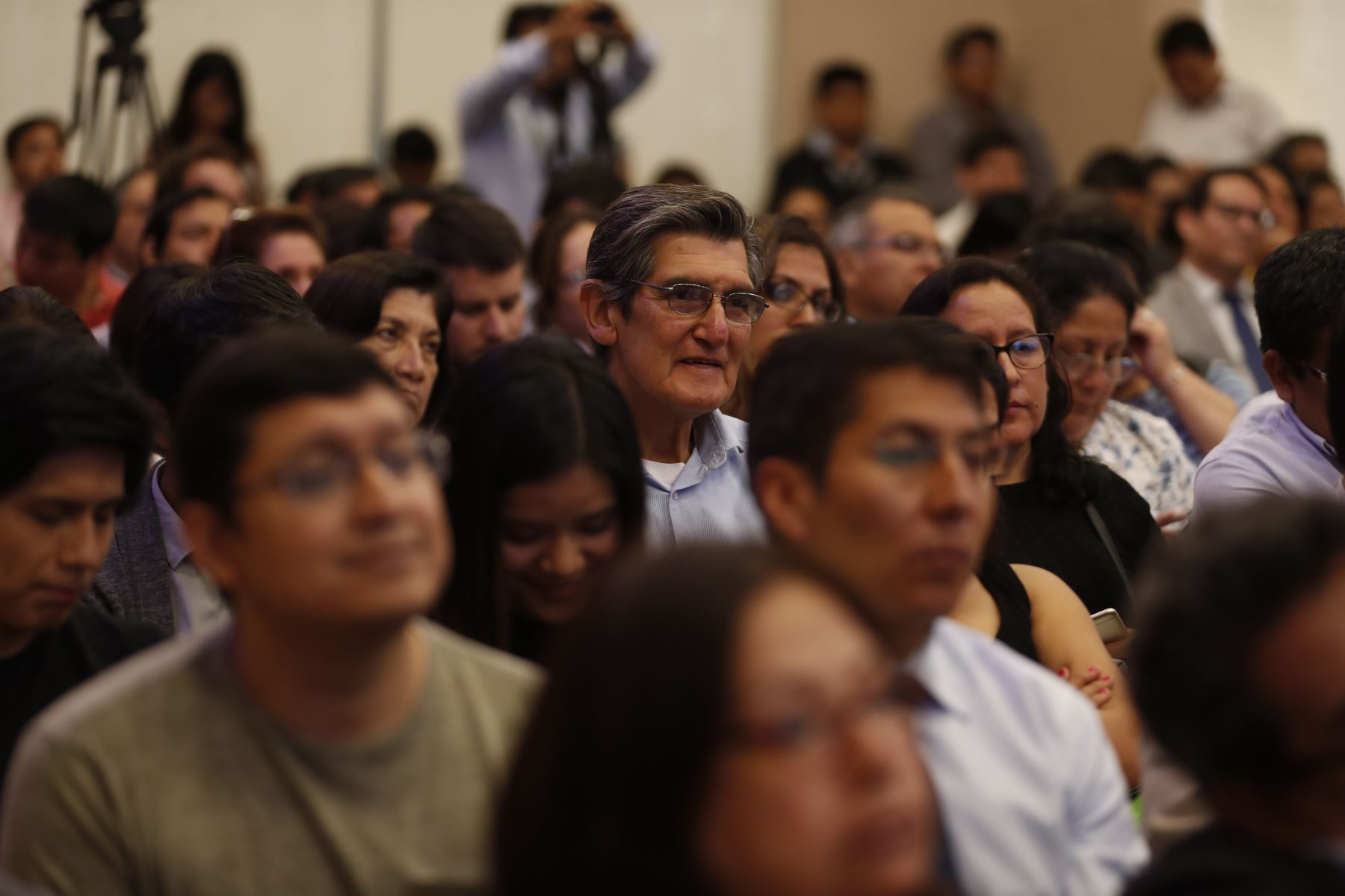 Lanzamiento de la renovada Ley de Beneficios Tributarios para Empresas Innovadoras. Foto: ANDINA/Renato Pajuelo