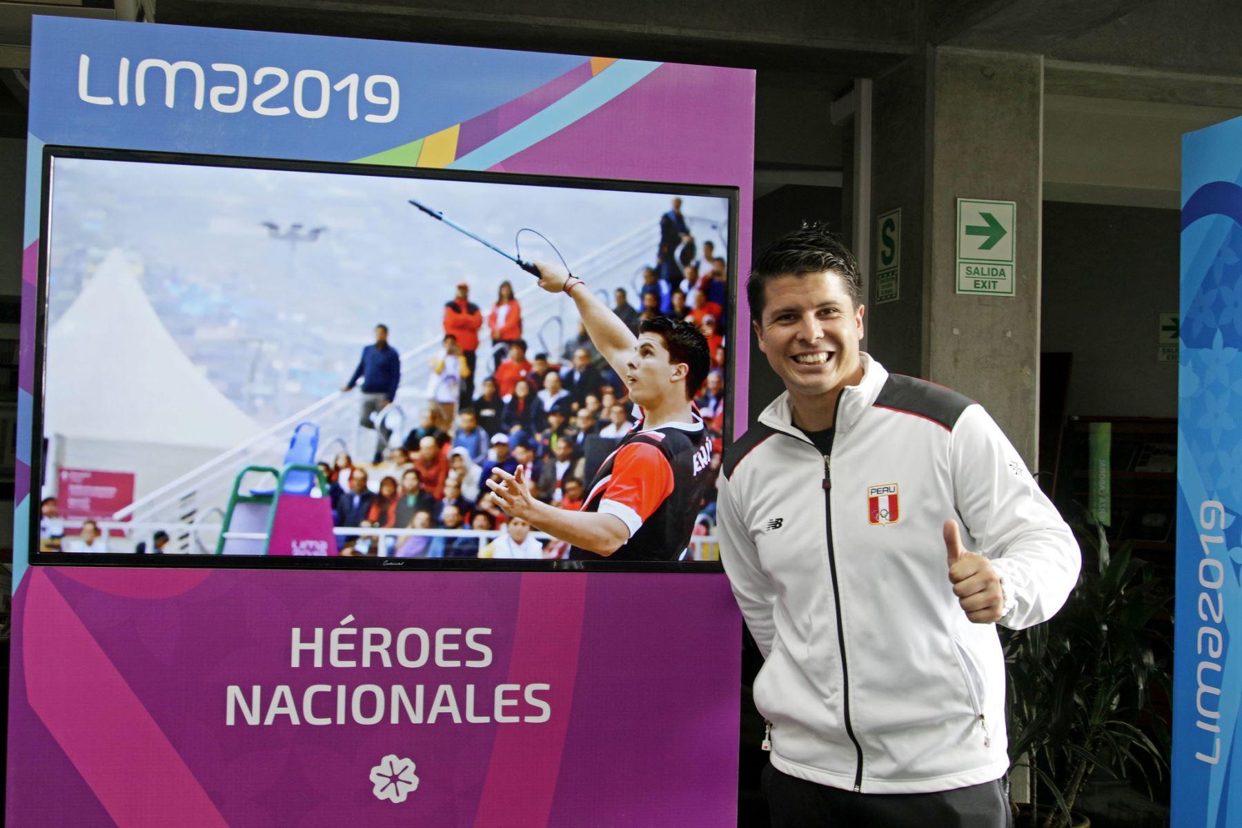 Exposición fotográfica de los Juegos Lima 2019 en la Biblioteca Nacional