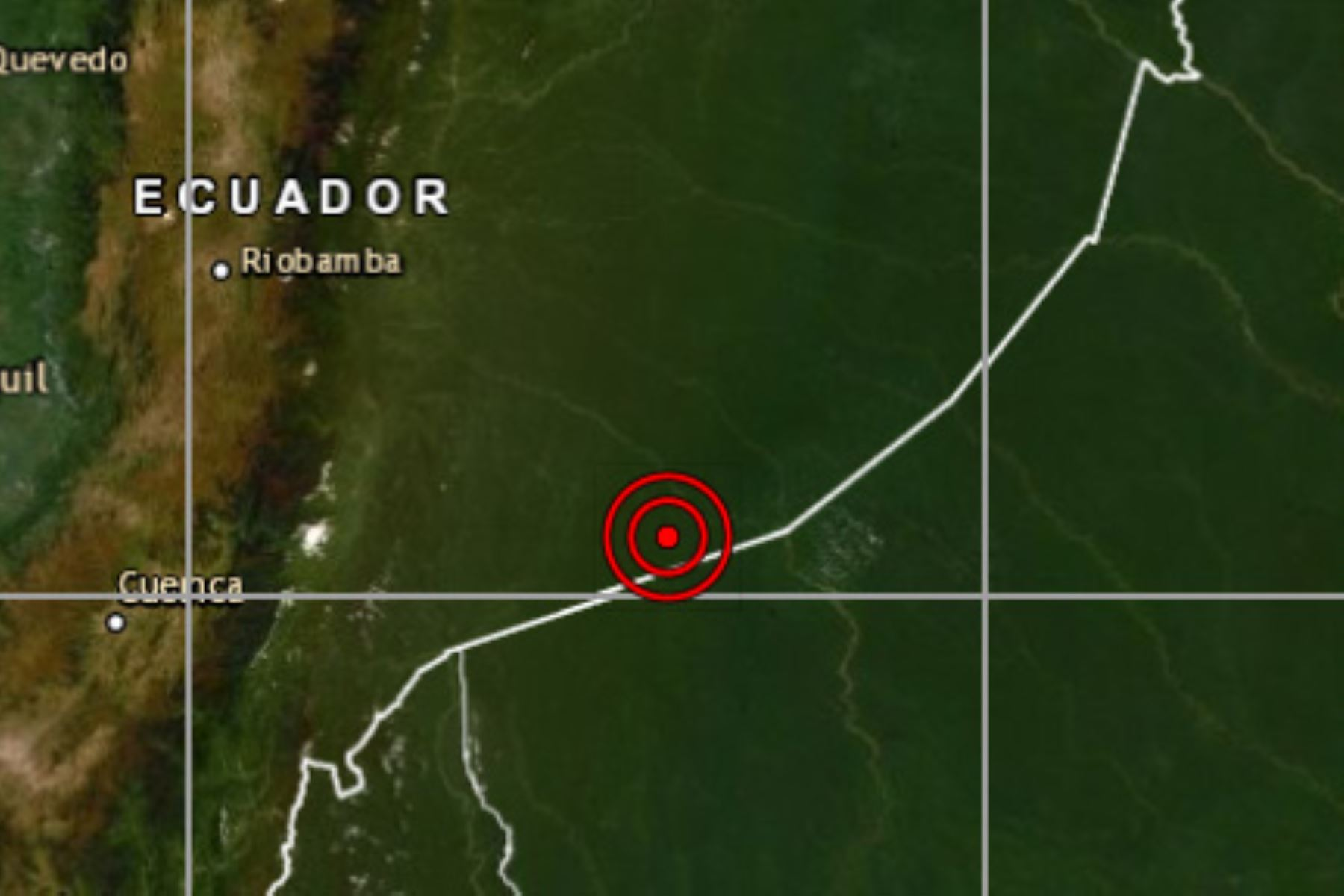 El epicentro del sismo de magnitud 4.4 se localizó a 81 kilómetros al noroeste del distrito de Pastaza, región Loreto.