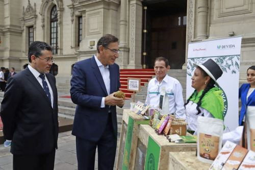 Presidente Vizcarra participa en lanzamiento de ExpoVraem 2019
