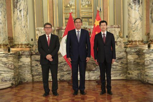 Presidente Vizcarra recibe cartas credenciales de los nuevos embajadores de República Checa, China, Malasia, y Panamá