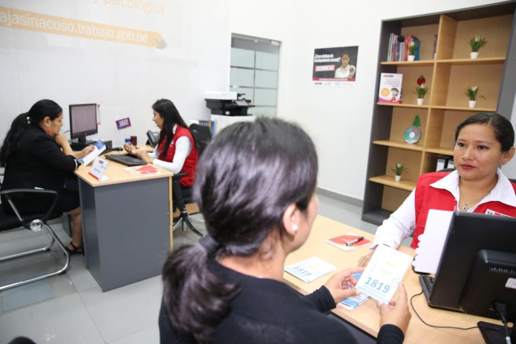 95% de denuncias por hostigamiento sexual laboral corresponde a mujeres, informa el Ministerio de Trabajo. Foto: ANDINA/Difusión.