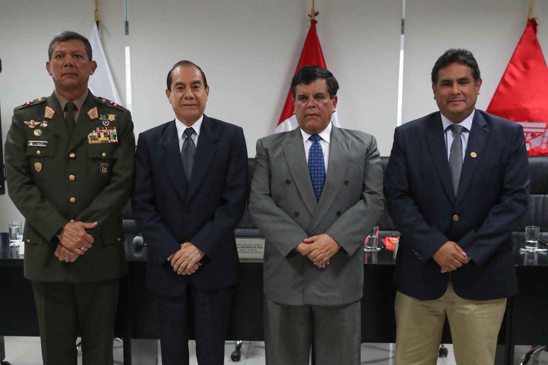 Ejército del Perú y Petroperú firmaron convenio para el abastecimiento estratégico de combustible. Foto: ANDINA/Difusión