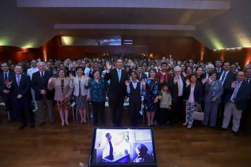 Presidente Vizcarra Cornejo  presenta  la Cobertura Universal de Salud (CUS) para toda la población peruana