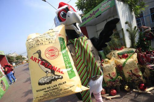 Minagri organiza feria navideña en el distrito de Lince.