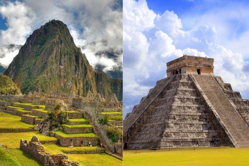 Las autoridades de Tinum (México), donde se encuentra Chichén Itzá, y Machu Picchu (Perú), suscribieron acuerdo de hermanamiento. Foto: ANDINA/Difusión