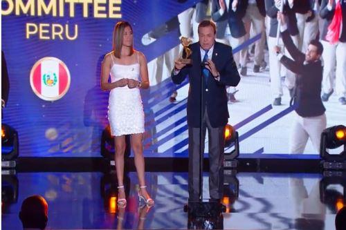Perú recibe premio de Panam Sports como el país con mayor crecimiento deportivo. Foto: Difusión.