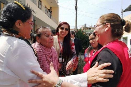 Ministerio de Justicia ayuda a hermanas a recuperar su vivienda. Foto: ANDINA/Difusión.