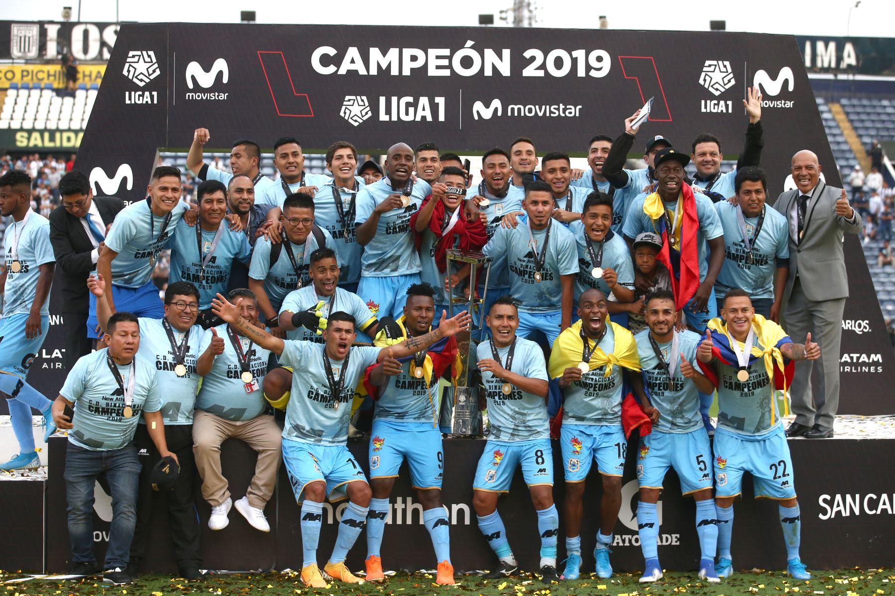 Binacional, el campeón nacional que llevó la fiesta a Puno ...