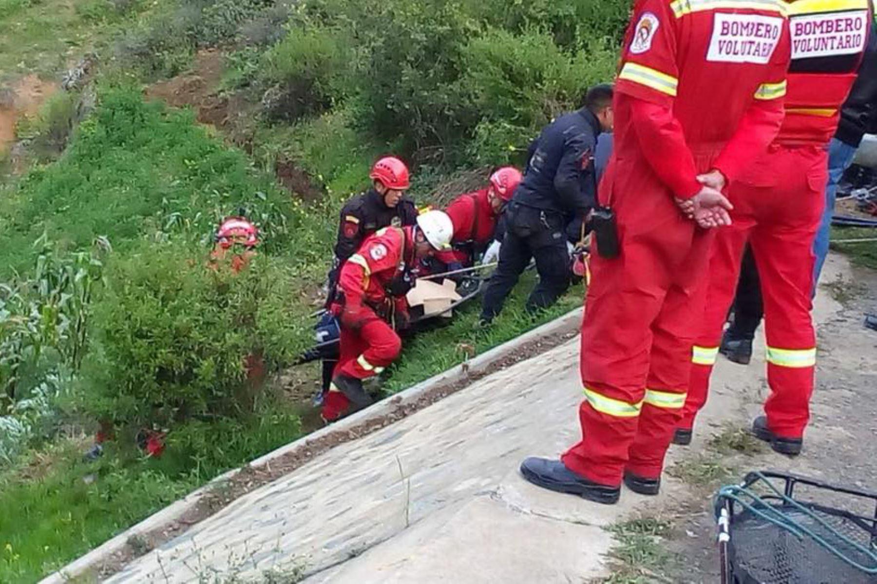 Despiste de vehículo en carretera Pativilca–Huaraz deja un muerto y dos heridos en Áncash.
