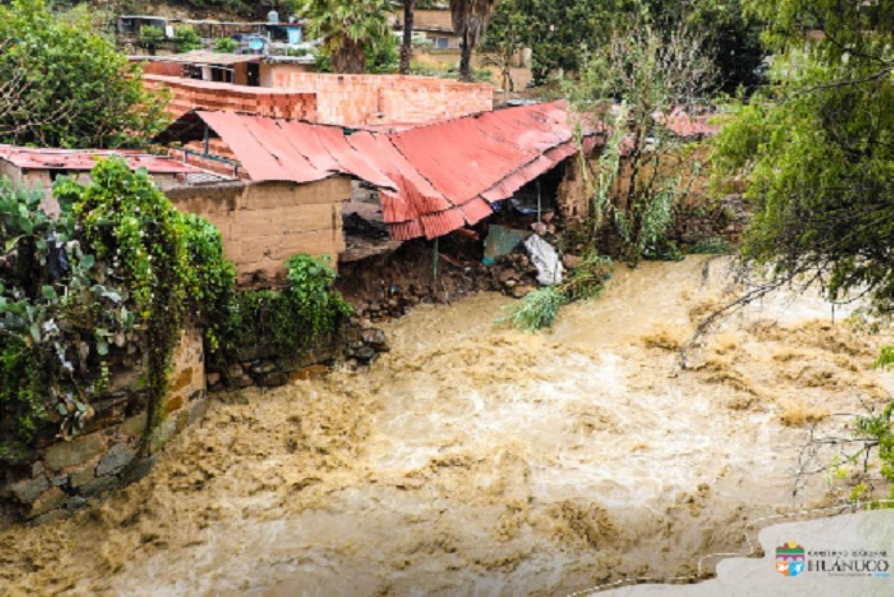 También están en iesgo muy alto ante las lluvias, 9 distritos de Arequipa, 5 de Cusco, 2 de Tacna y 1 de Moquegua. ANDINA/Difusión