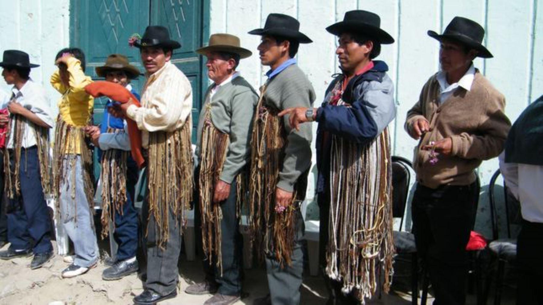 La ritualidad y uso social de los quipus en la comunidad campesina de San Andrés de Tupicocha, provincia de Huarochirí, departamento de Lima, fueron declarados Patrimonio Cultural de la Nación.