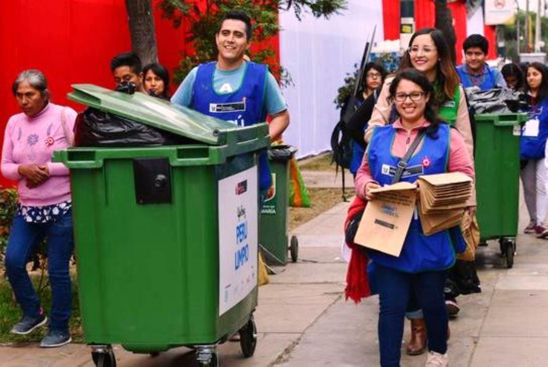 Minam prepublica guía sobre manejo de residuos sólidos en colegios. Foto: ANDINA/Difusión.
