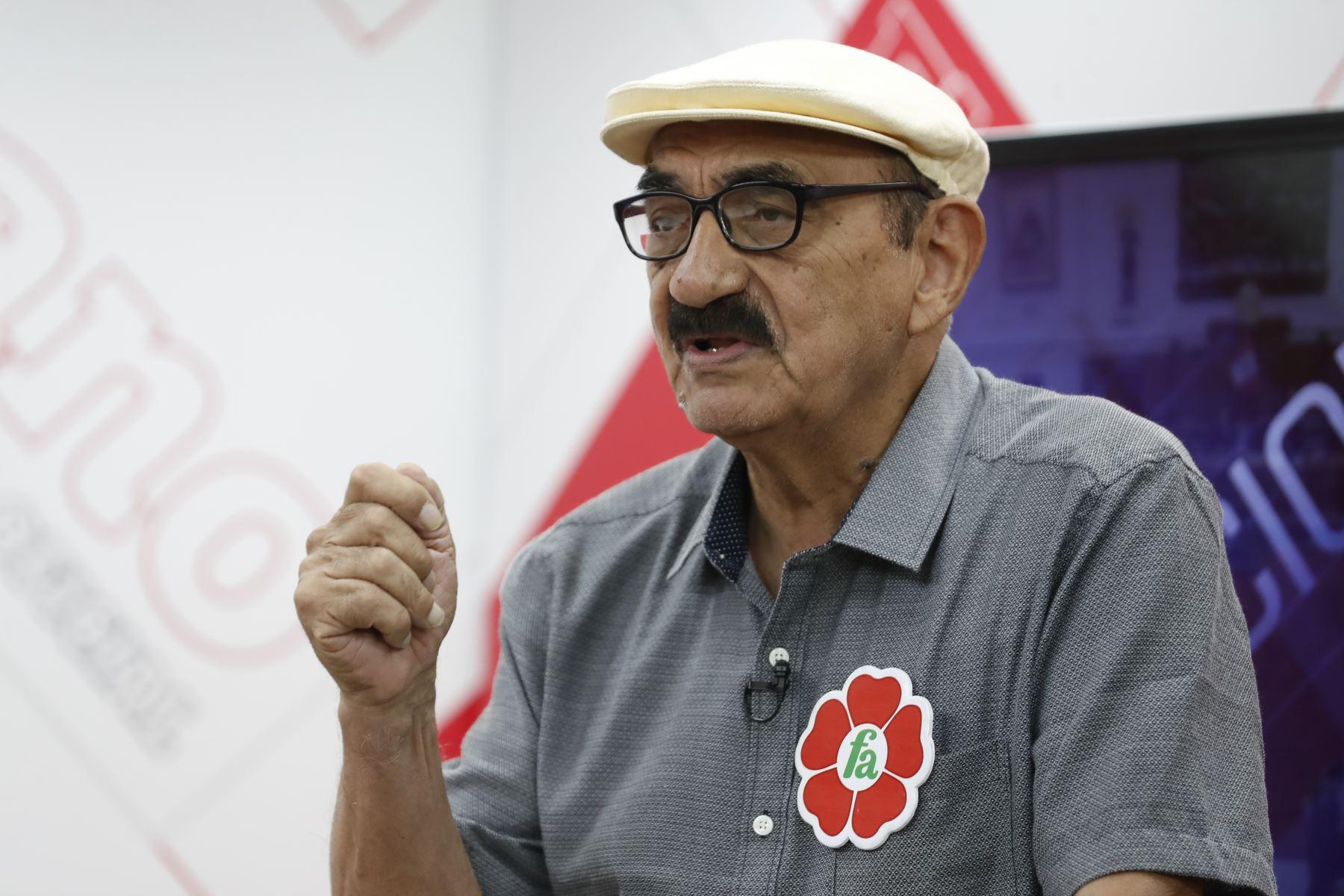 Enrique Fernández Chacón. ANDINA/Renato Pajuelo