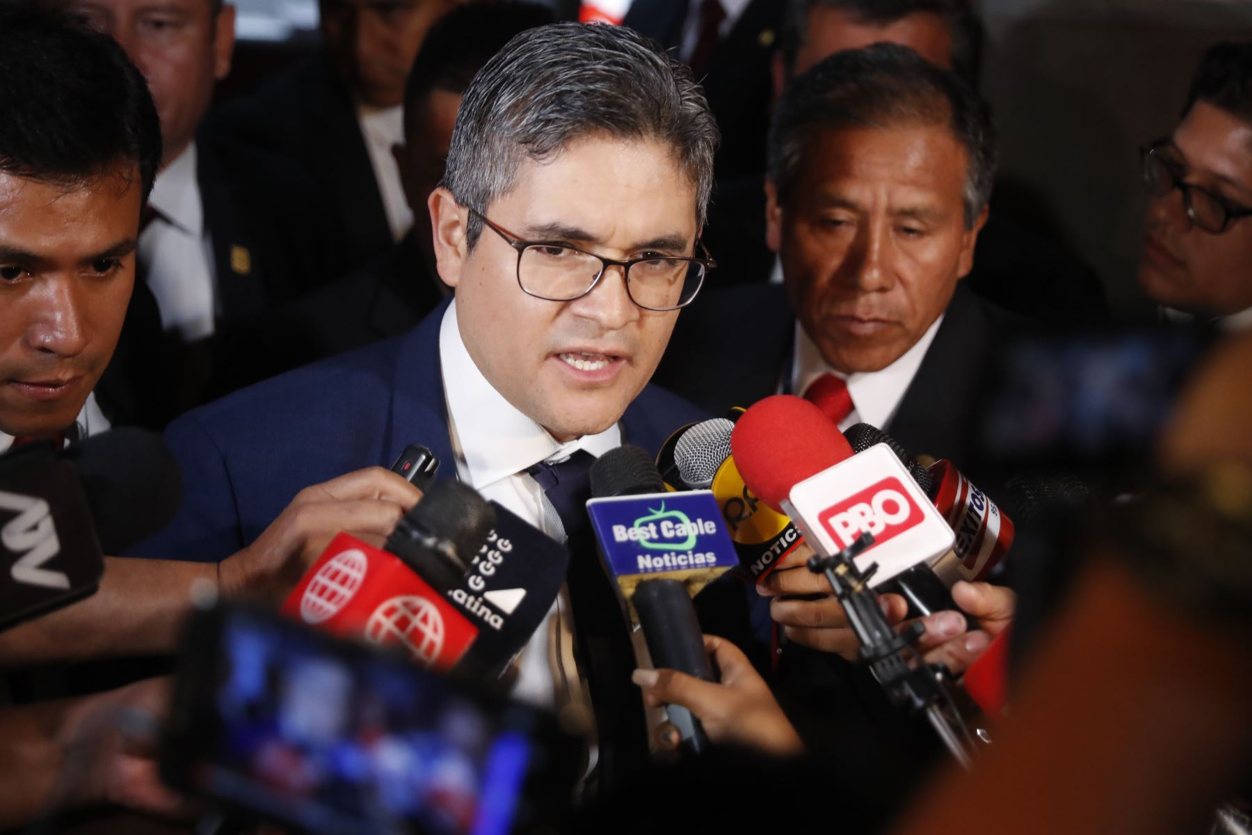 Fiscal José Domingo Pérez. Foto: ANDINA/Renato Pajuelo