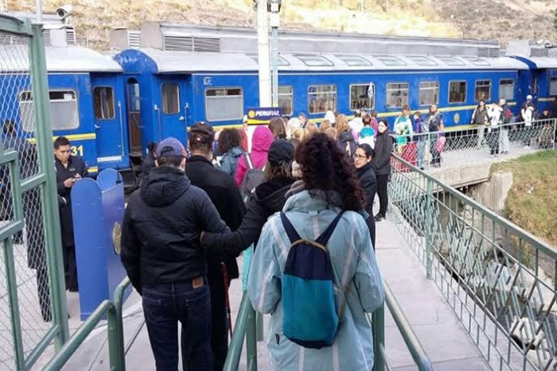Declaran en alerta roja vía férrea Ollantaytambo-Machu Picchu