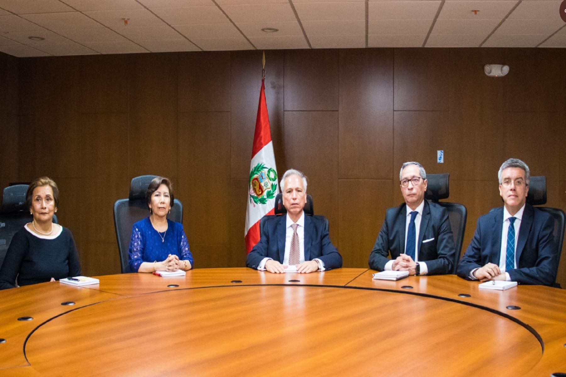 Aldo Vásquez fue elegido como presidente de la Junta Nacional de Justicia