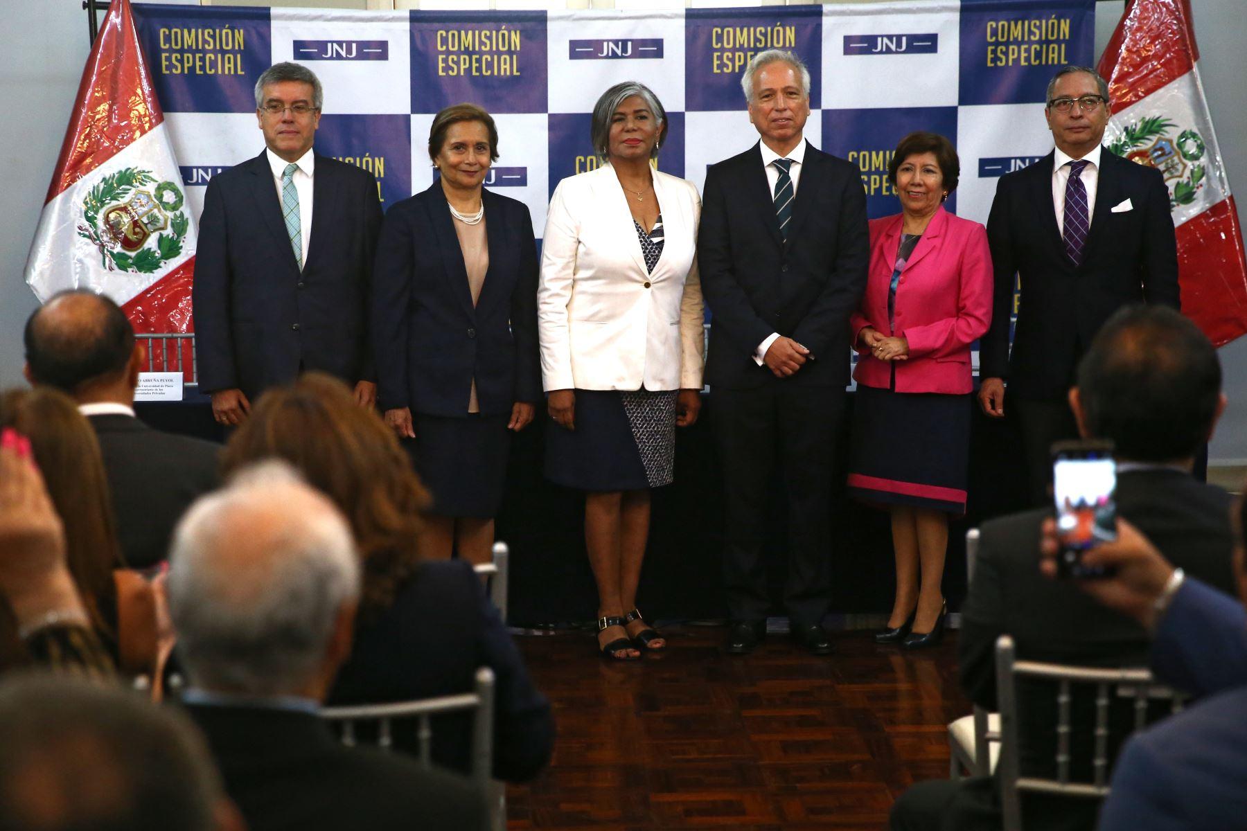 Junta Nacional de Justicia (JNJ), Foto: ANDINA/Vidal Tarqui