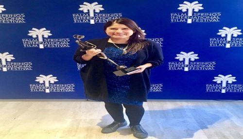 "Película peruana ""Canción sin nombre"" recibe premio en Festival de Palm Springs Foto: Twitter Canción sin Nombre"
