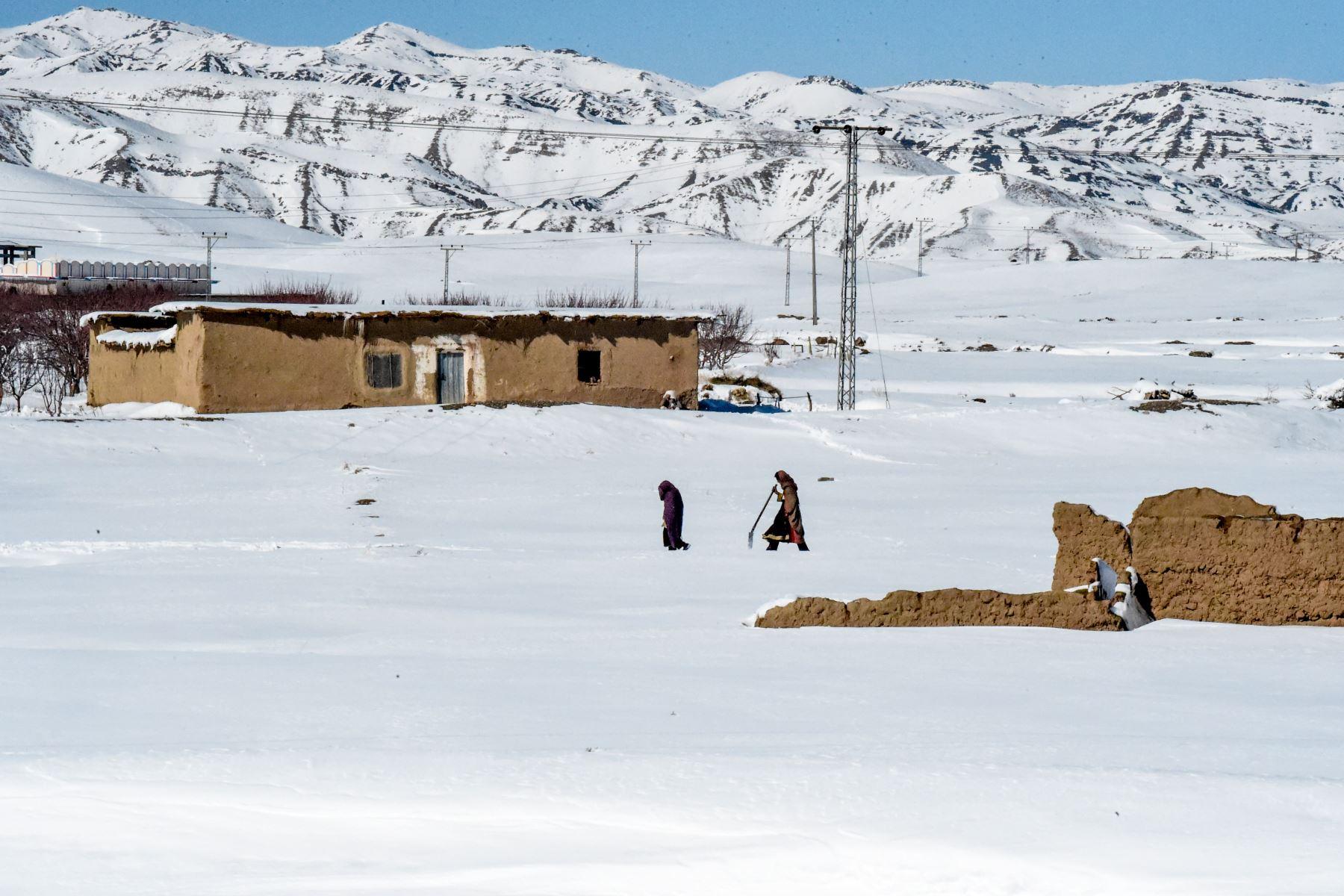 Más de 110 muertos a causa del crudo clima invernal en Pakistán y Afganistán. Foto: AFP