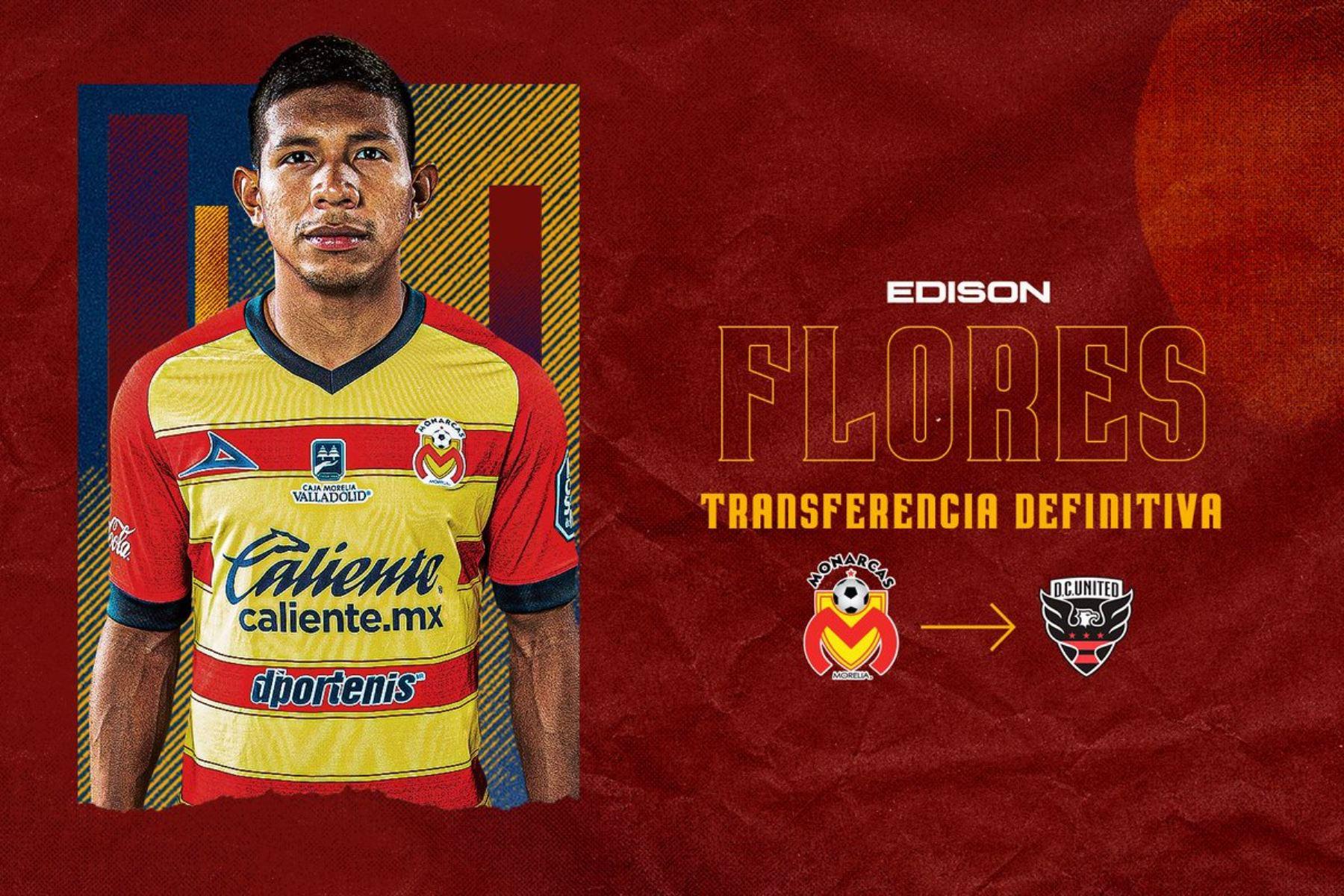 Edison Flores fue transferido al DC United de Estados Unidos