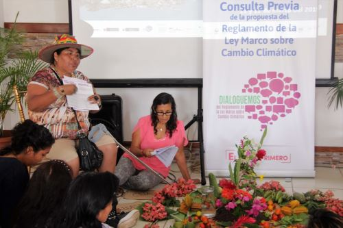 Pueblos indígenas participarán en medidas para mitigar efectos del cambio climático, anuncia el Ministerio de Cultura. ANDINA/Difusión
