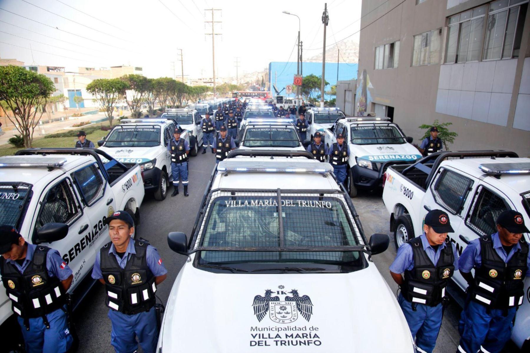 Refuerzan seguridad ciudadana en VMT. Foto: Andina/difusión