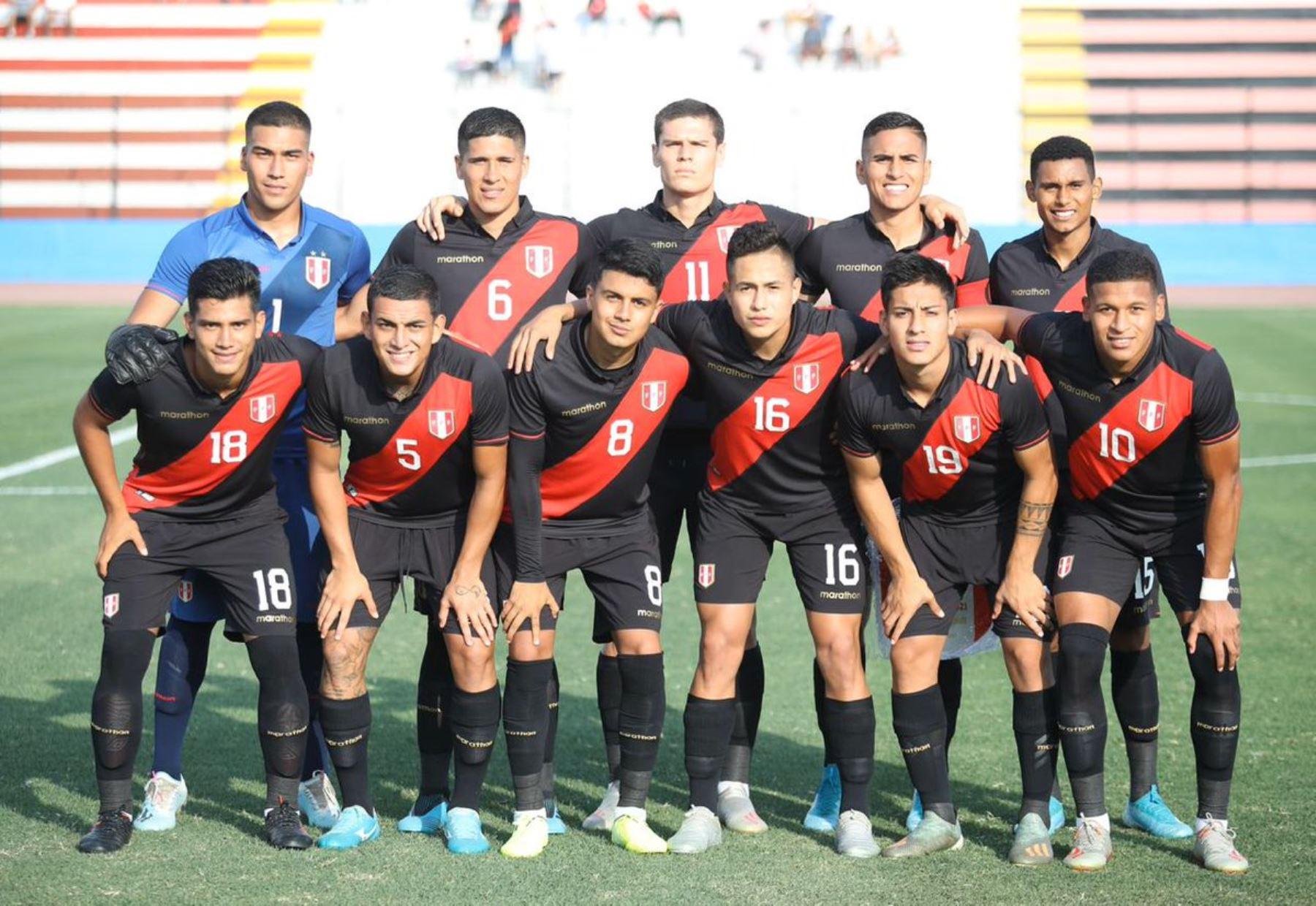 La selección peruana Sub-23 buscará su clasificación a los Juegos Olímpicos Tokio 2020