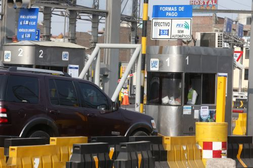 La tarifa del peaje de la Línea Amarilla ha sido fijada en 5.20 soles