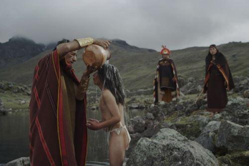 Escena de El guardián de los Andes de Fernando Garabedian.