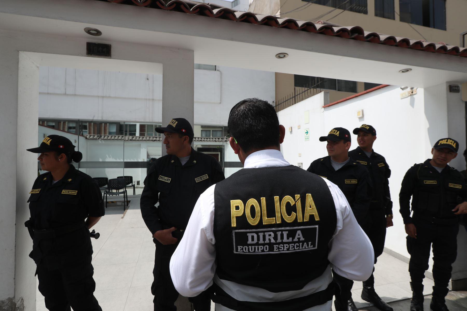 Fiscalia realiza allanamiento en local de la Universidad Alas Peruanas, por investigación a Joaquín Ramírez. Foto: ANDINA/Melina Mejía