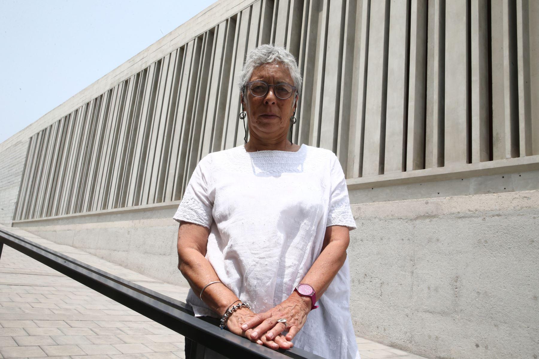 Denise Pozzi Escot directora del Museo de El idolo de Pachacamac