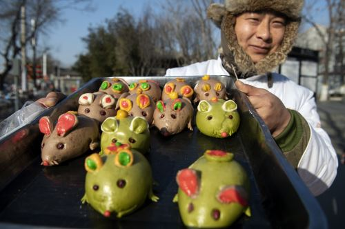 China celebra del Año Nuevo Lunar de la Rata