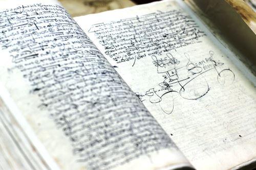 Documento más antiguo del Perú ingresó al Archivo General de la Nación. Foto: ANDINA/Difusión.