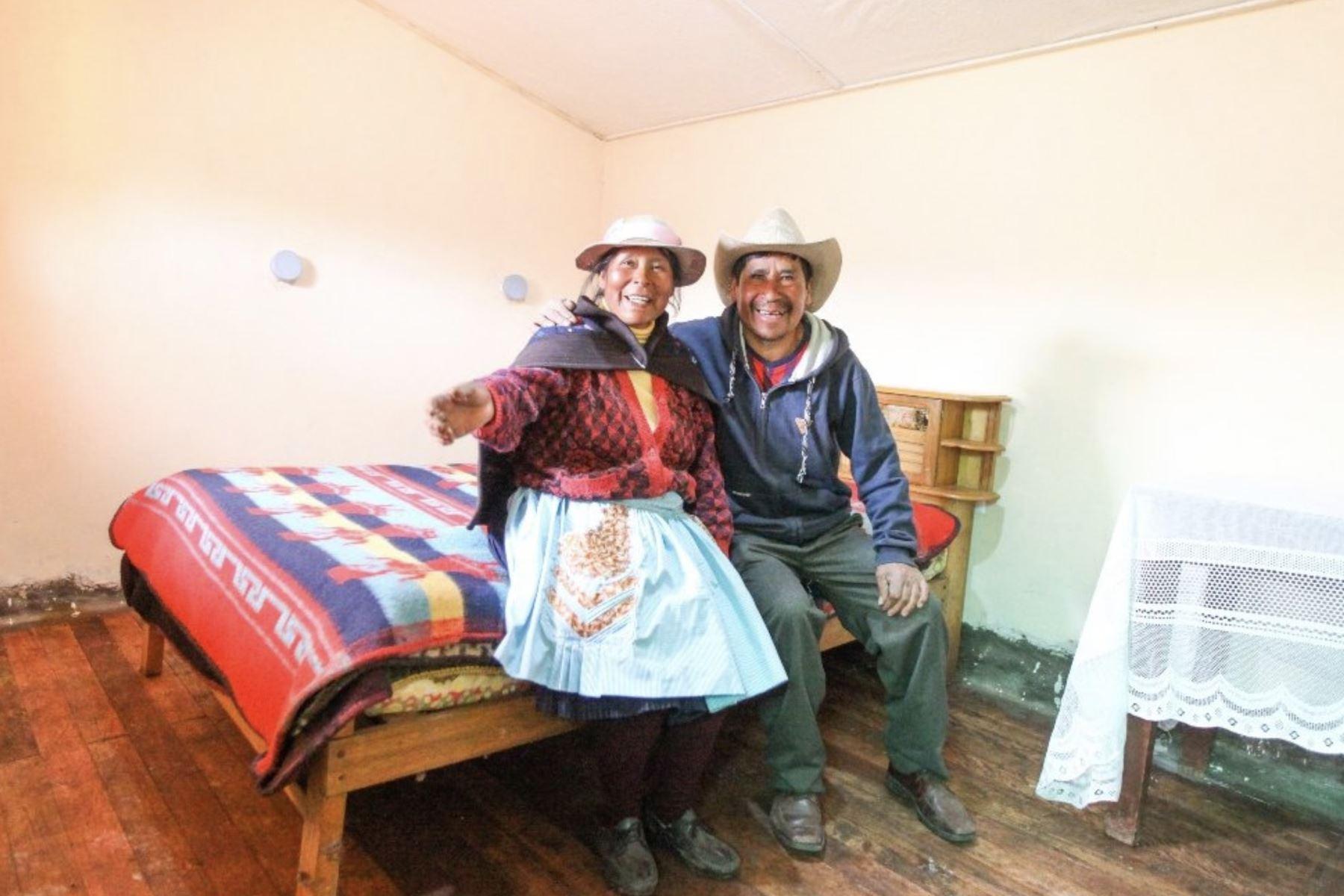 Centro poblado Hornobamba donde se realizan obras del proyecto MiAbrigo en el que favorece a las familias en situación de pobreza y pobreza extrema. Foto:Difusión Midis